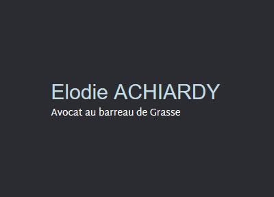 Logo Elodie ACHIARDY - CABINET D'AVOCAT